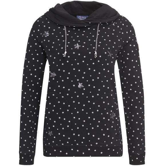 Damen Sweatshirt mit Allover Motiv | Ernsting's family