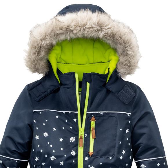 Leistungssportbekleidung Durchsuchen Sie die neuesten Kollektionen beste Qualität für Jungen Schneeoverall mit Sternen allover | Ernsting's family