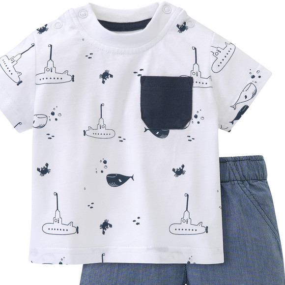 Newborn T-Shirt und Shorts