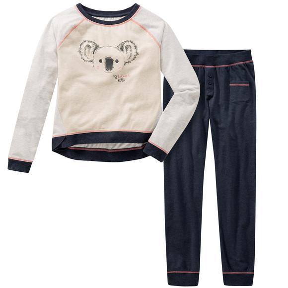 Gratisversand neue niedrigere Preise Outlet-Boutique Mädchen Schlafanzug mit Koalabär-Print | Ernsting's family