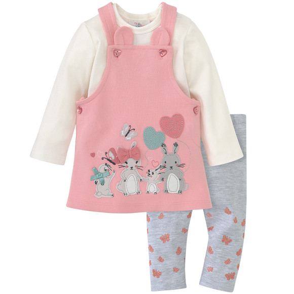 Newborn Kleid, Langarmbody und Leggings