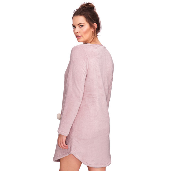Damen Fleece-Kleid