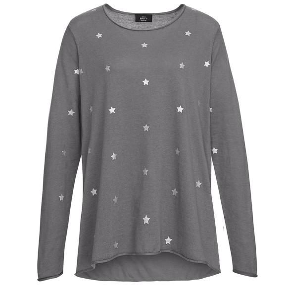 Damen Pullover mit Sternen allover | Ernsting's family