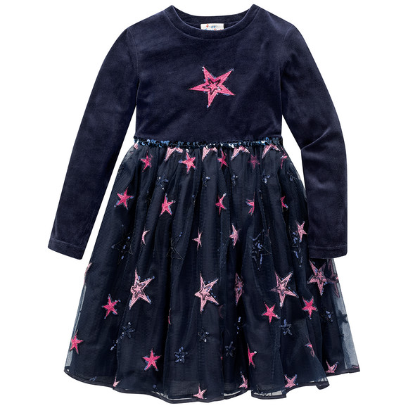 Suche nach Beamten Gutscheincode Sonderkauf Festliches Mädchen Kleid mit Pailletten | Ernsting's family