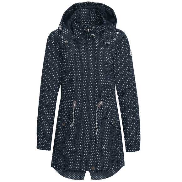 ernstings family punkte jacke damen
