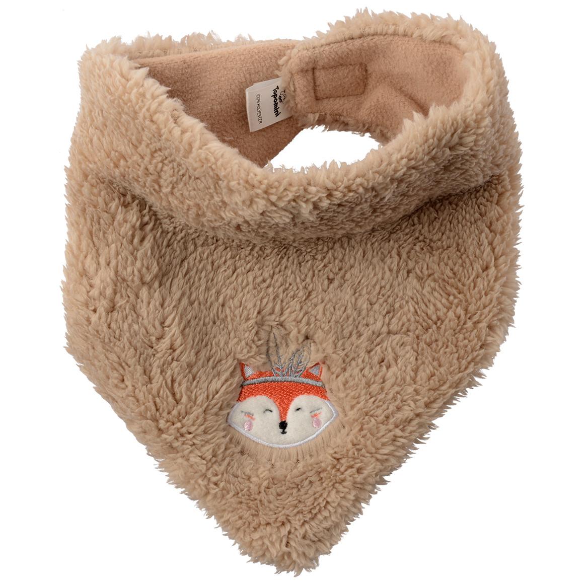 Baby Bandana mit Fuchs Applikation