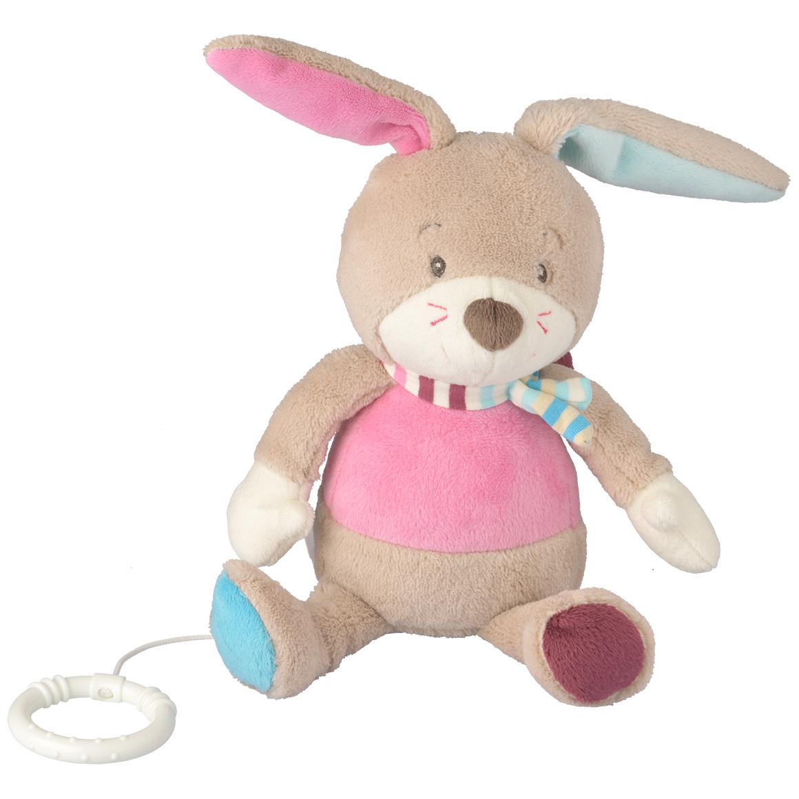 Baby Spieluhr im Hasen-Design
