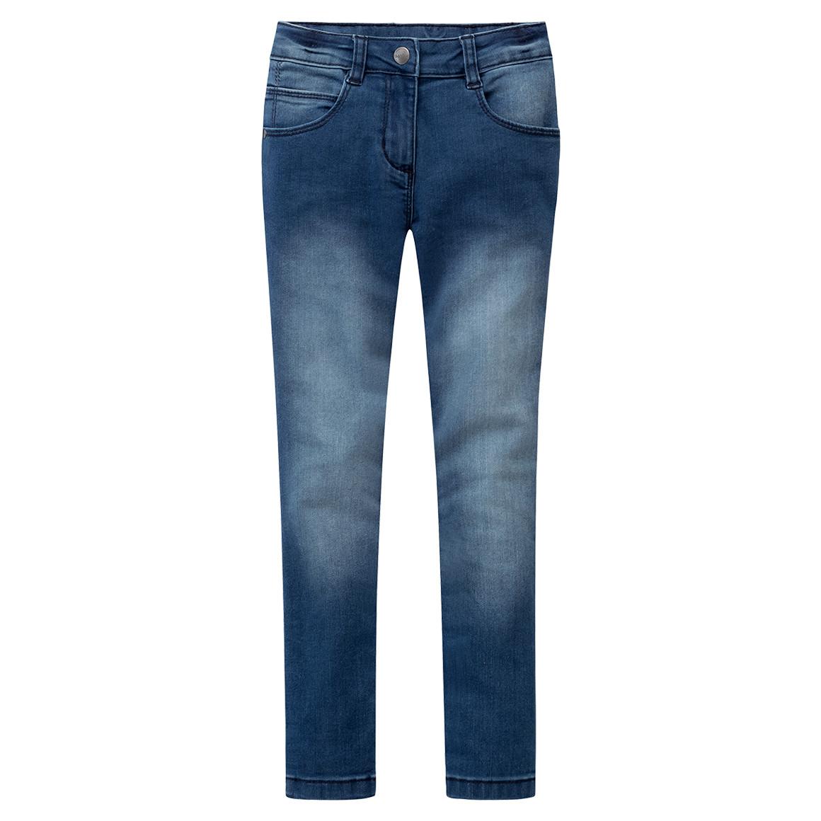 Mädchen Jeans mit Stickereien