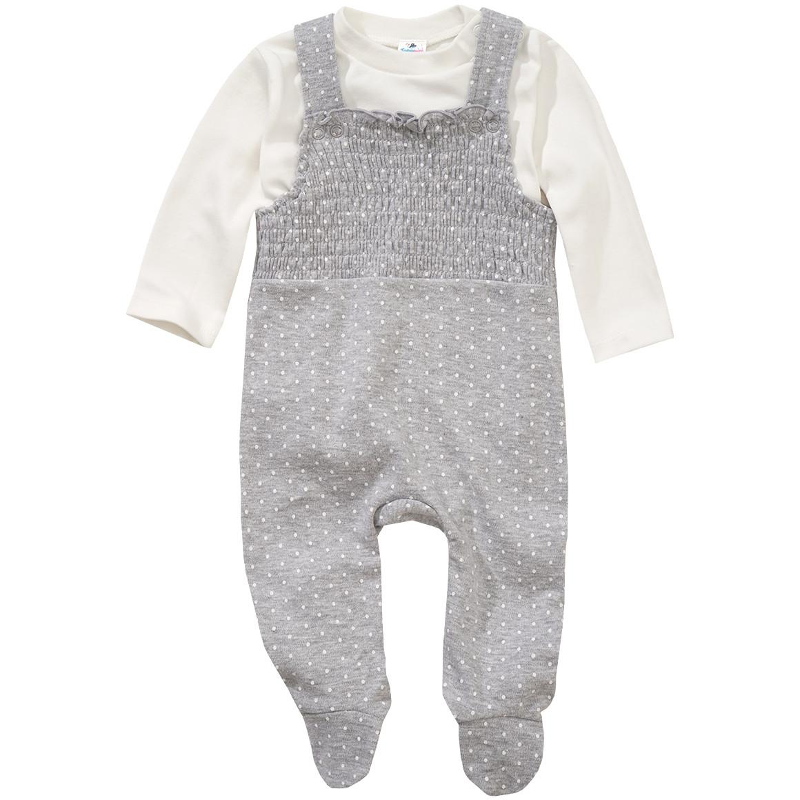 Newborn Strampler mit Langarmshirt
