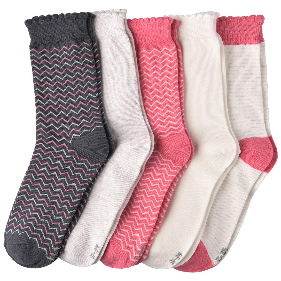 5 Paar Mädchen Socken