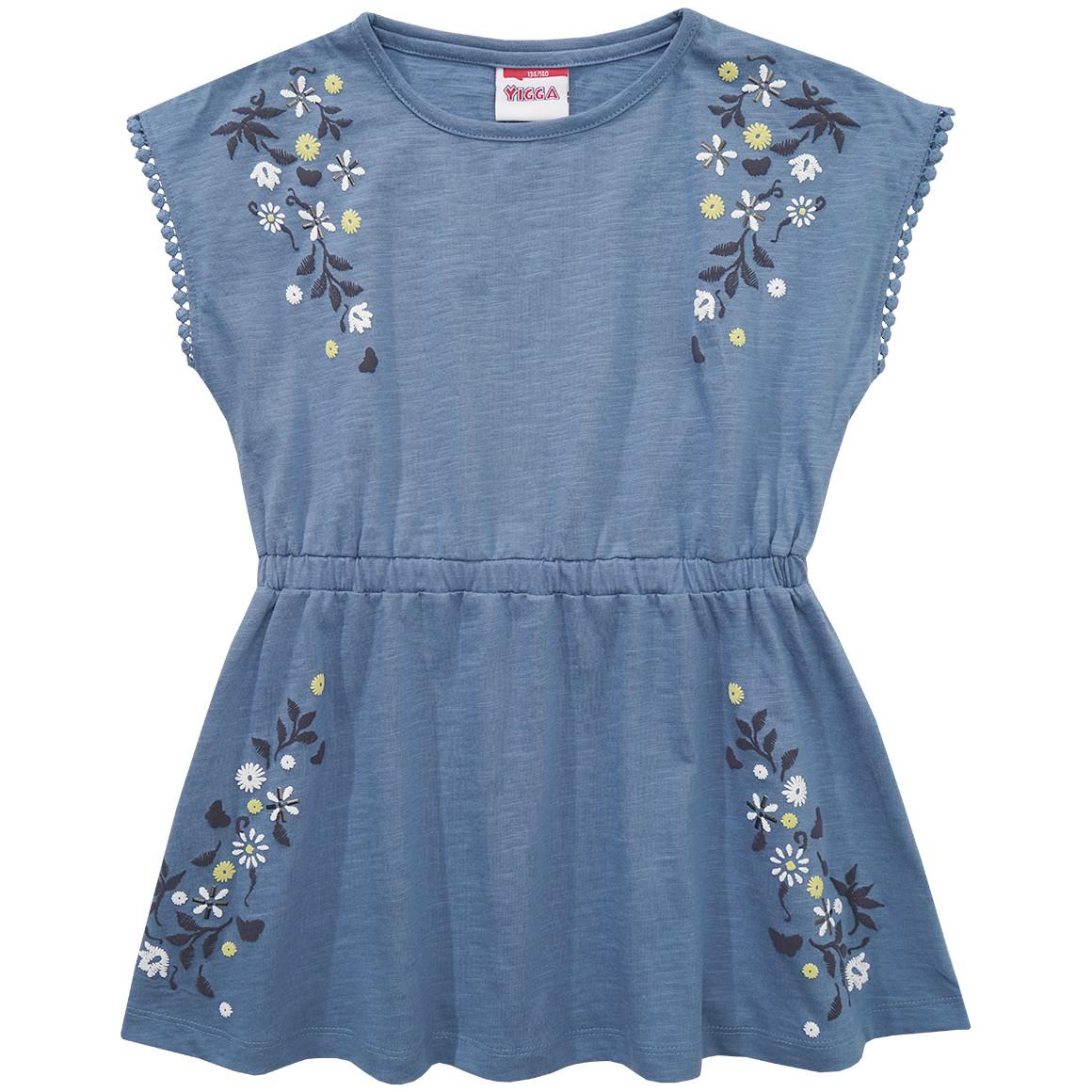 Mädchen T-Shirt in Blusenform