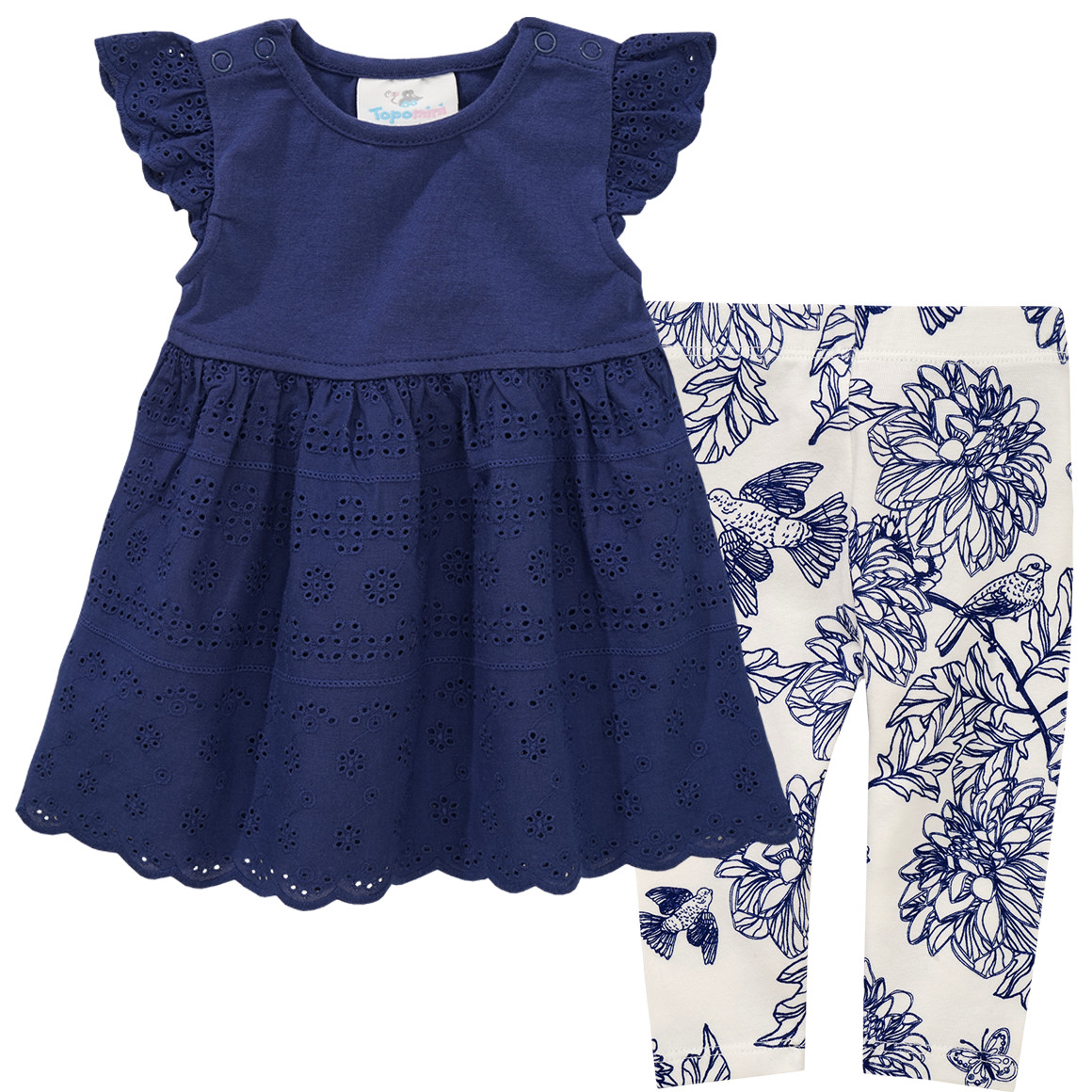 Newborn Kleid und Leggings