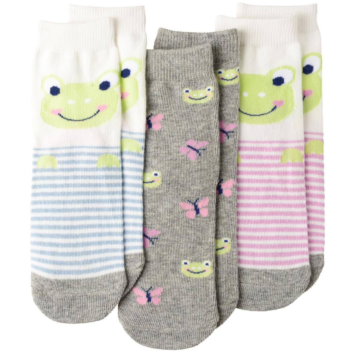 3 Paar Baby Socken