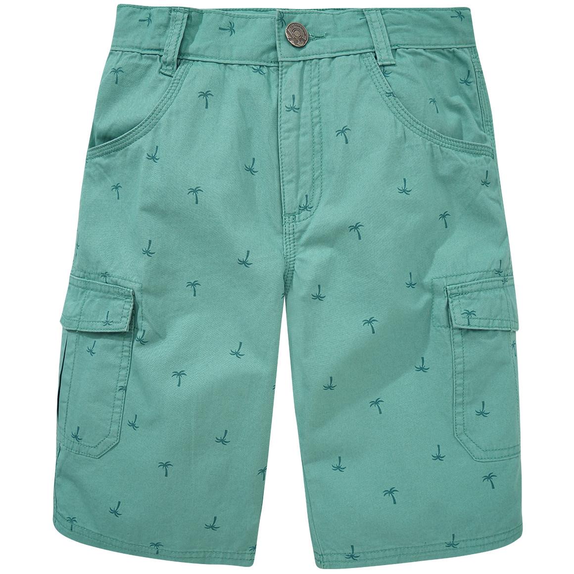 Jungen Shorts mit Palmen Motiv