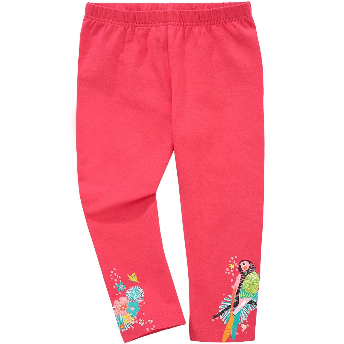 Mädchen Capri Leggings mit Print