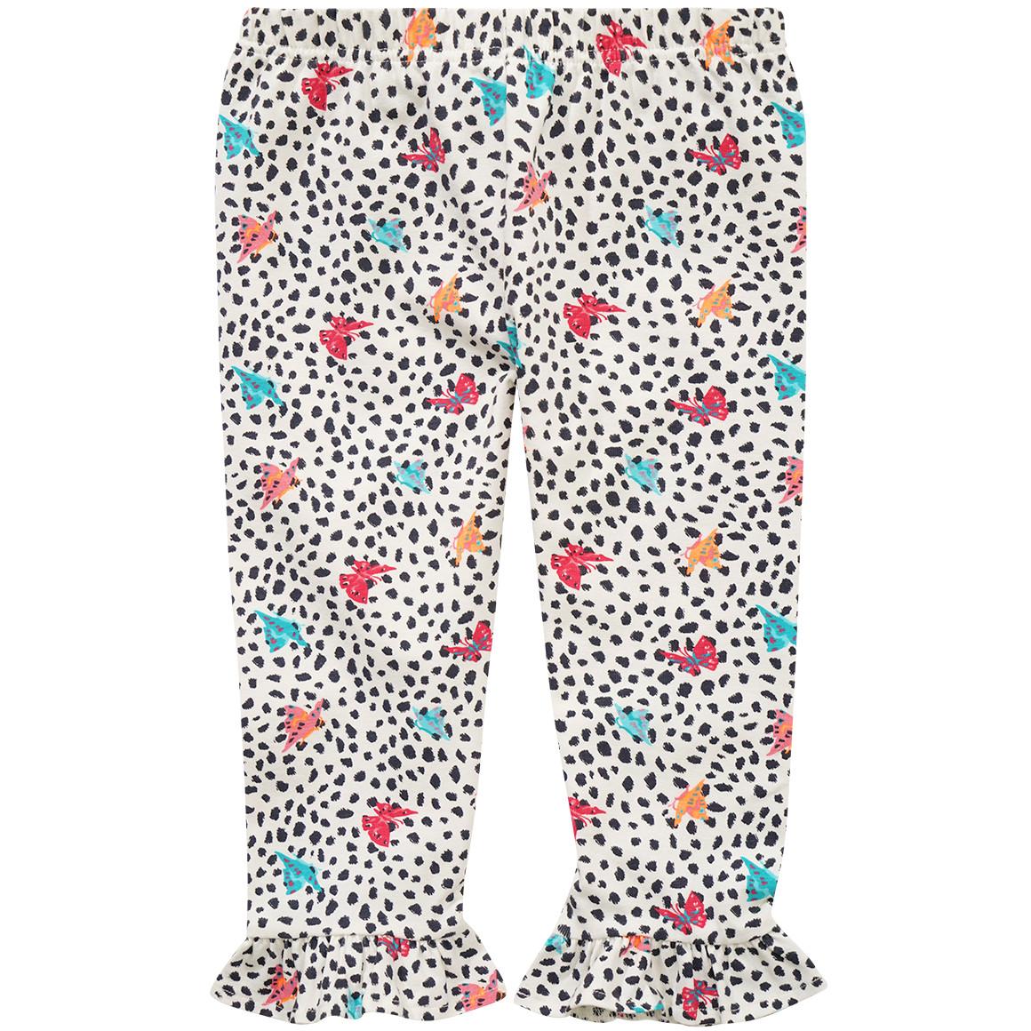 Mädchen Capri Leggings mit Alloverprint