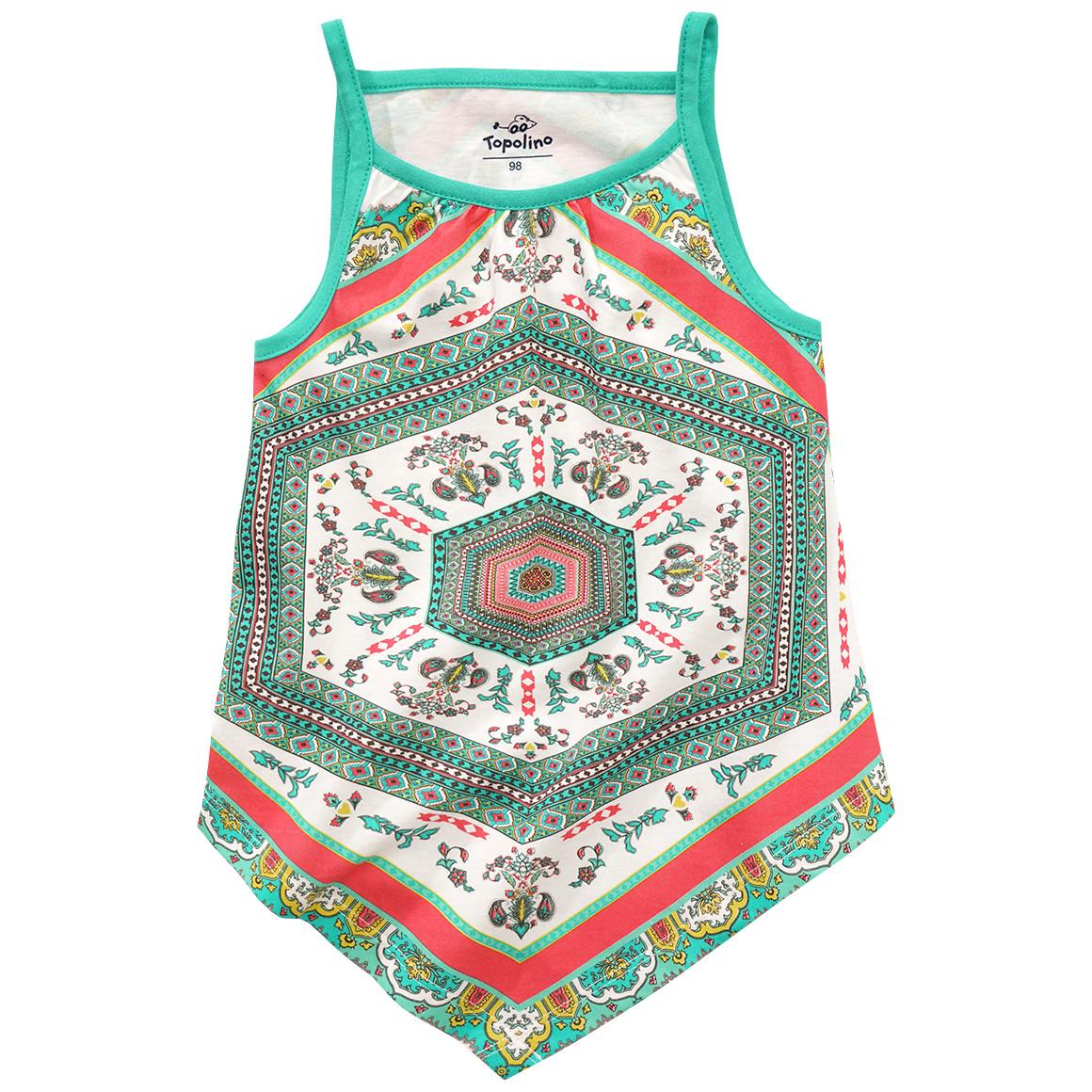 Mädchen Top mit Mandala Muster