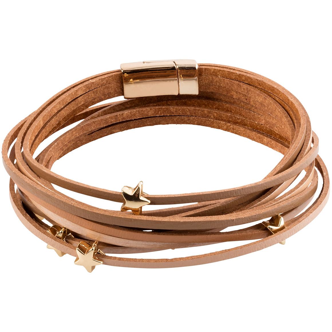 Damen Armband aus Leder - broschei