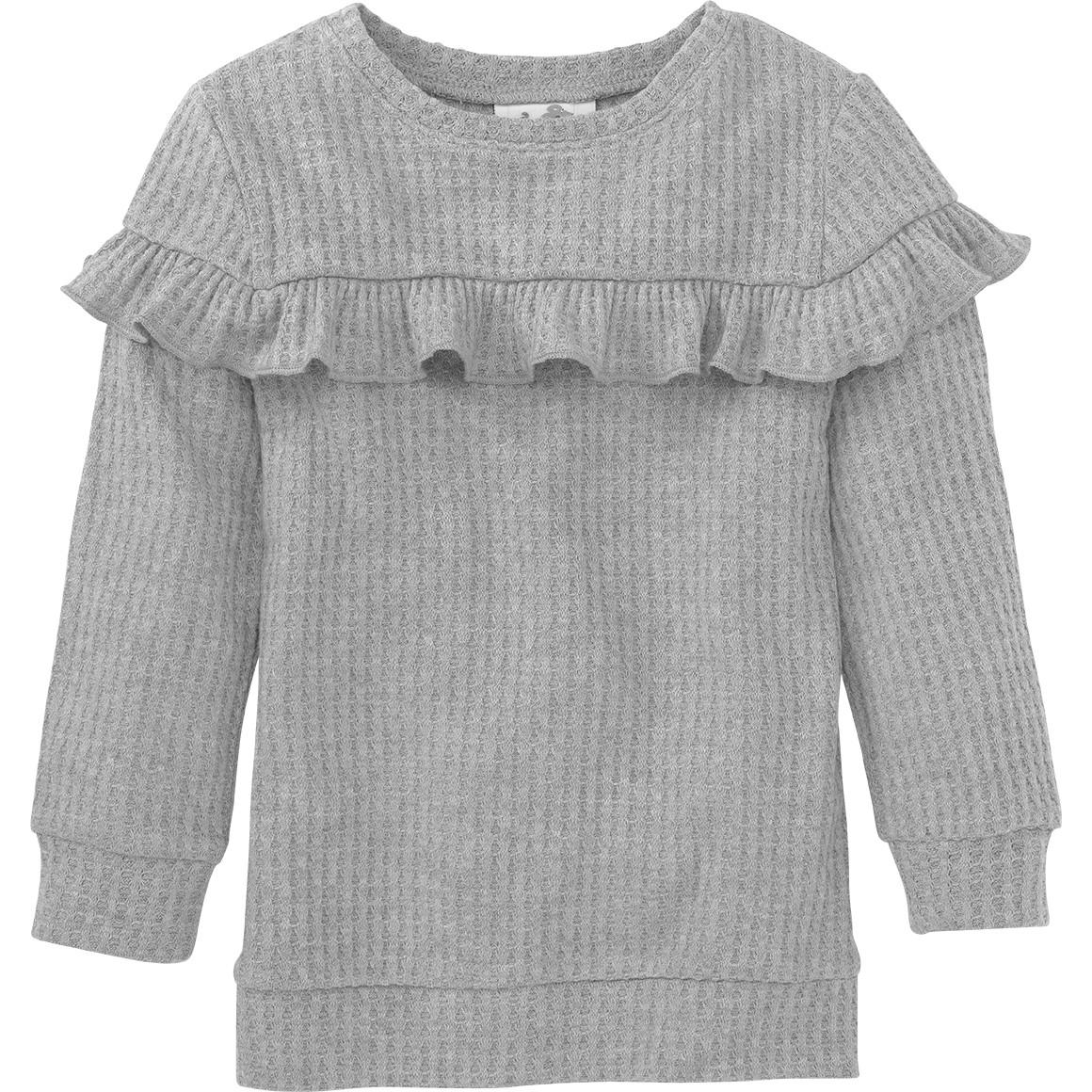 Mädchen Pullover mit Struktur