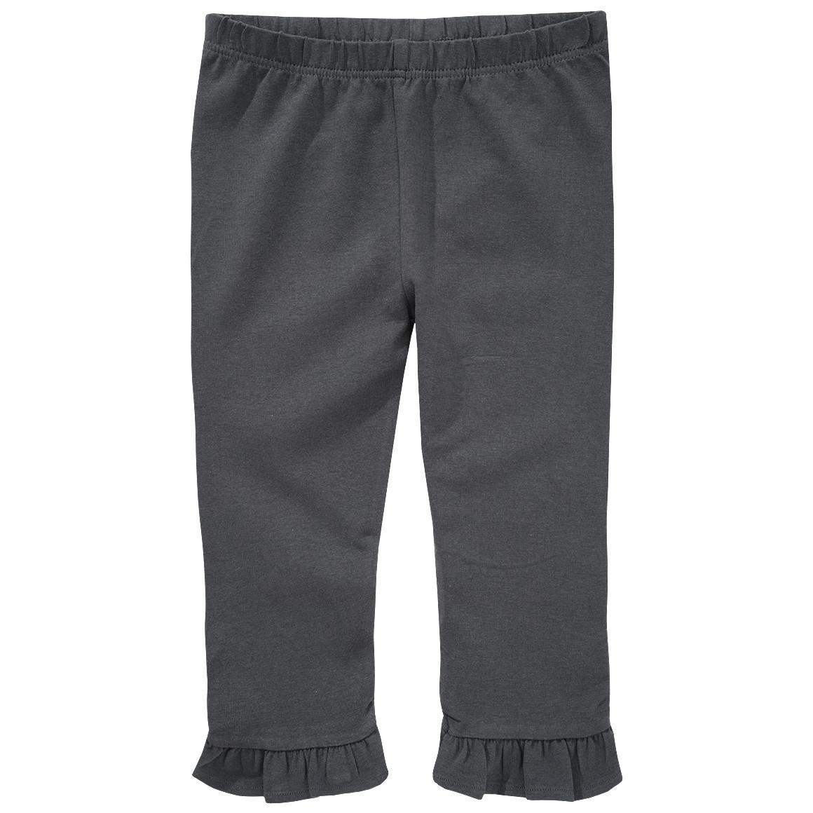 Mädchen Capri Leggings mit Rüschen