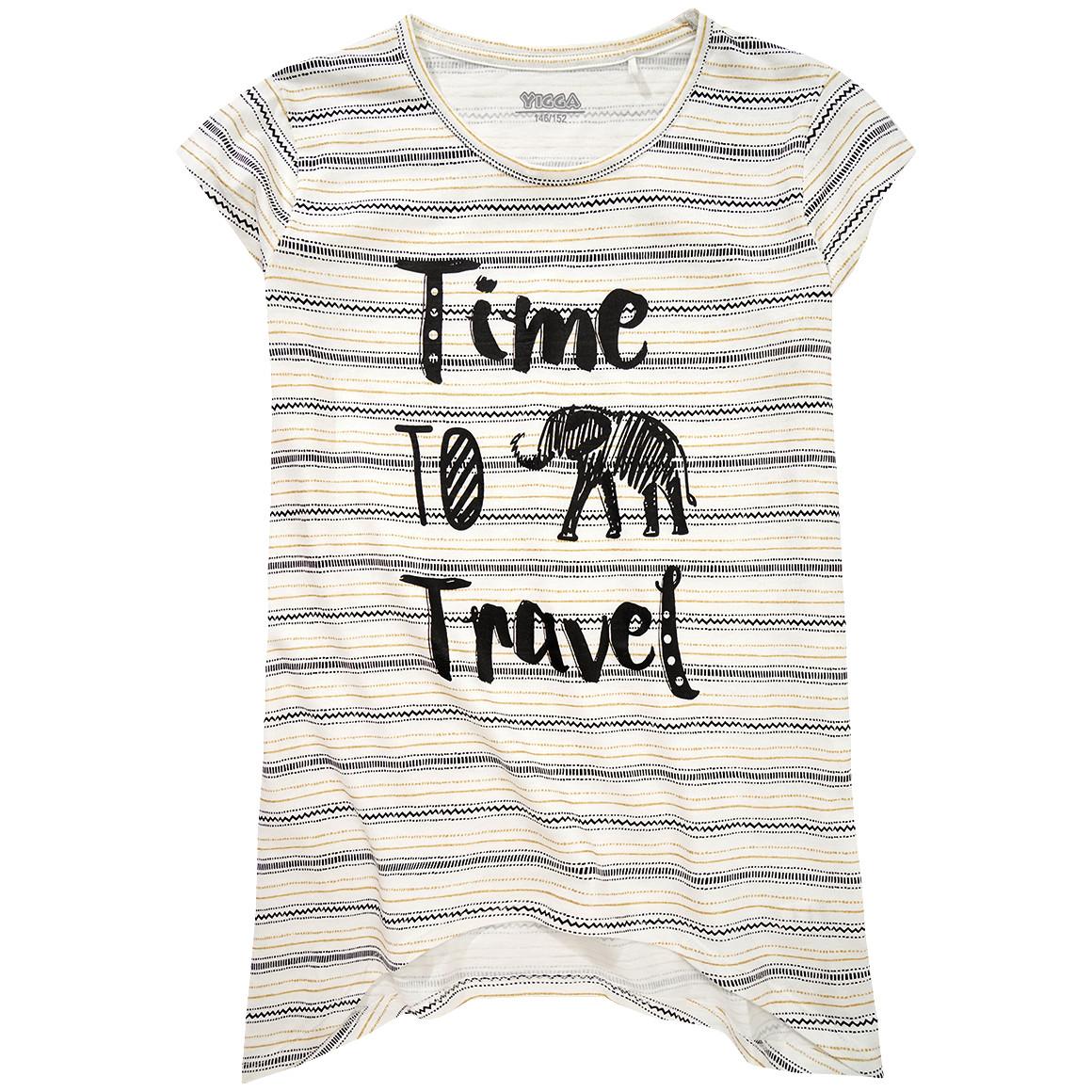 Mädchen T-Shirt mit Front Print