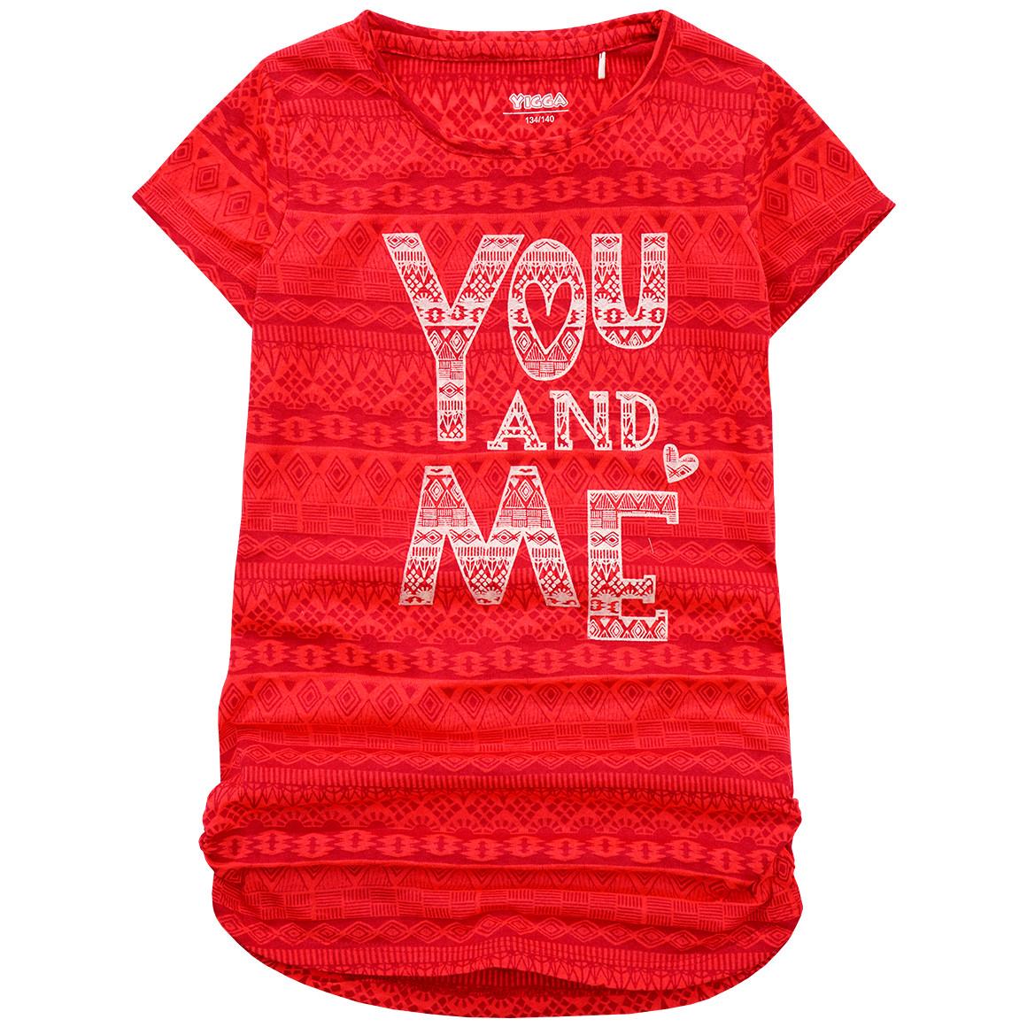 Mädchen T-Shirt Musterung