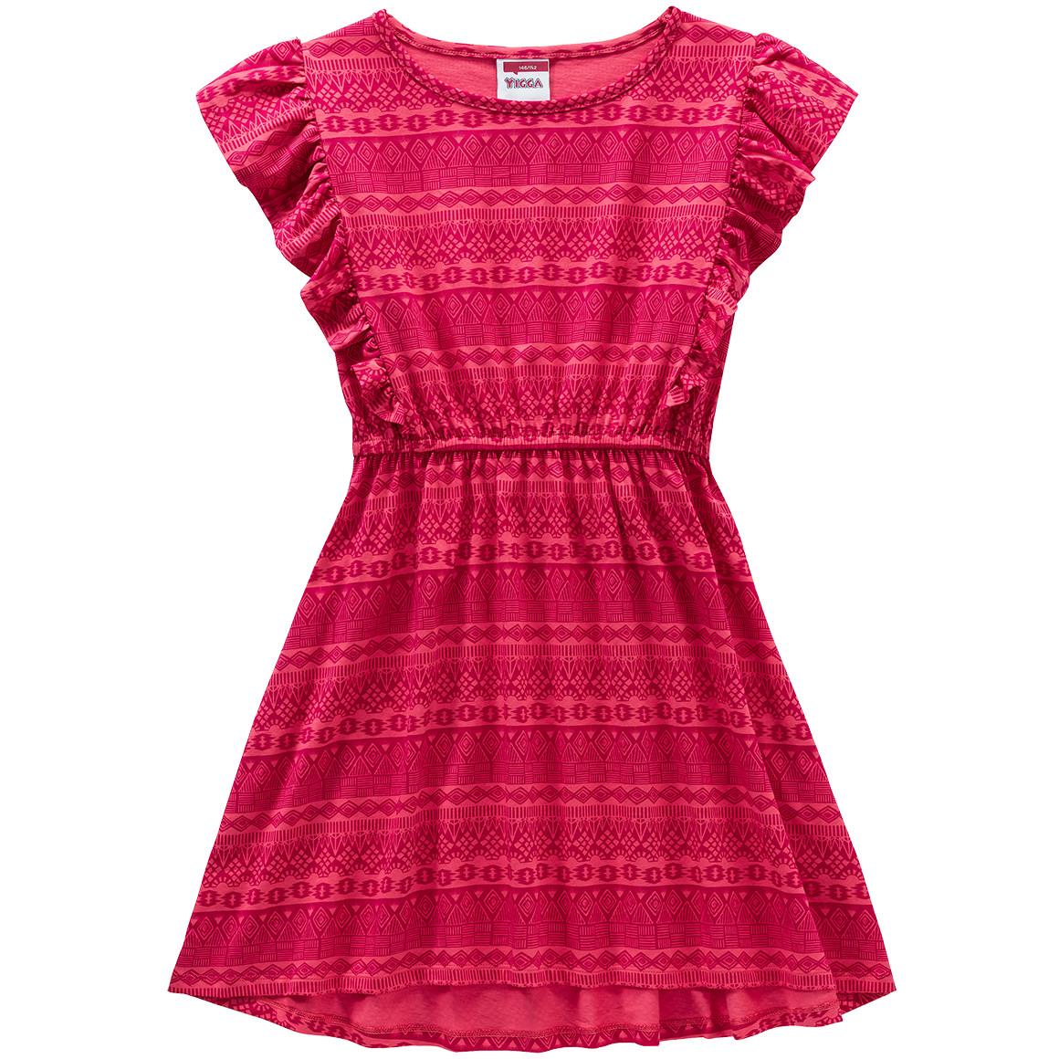 Mädchen Kleid mit Rüschen