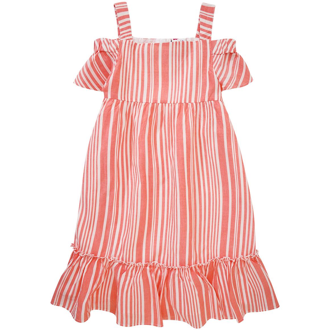 Mädchen Kleid mit Streifenmuster