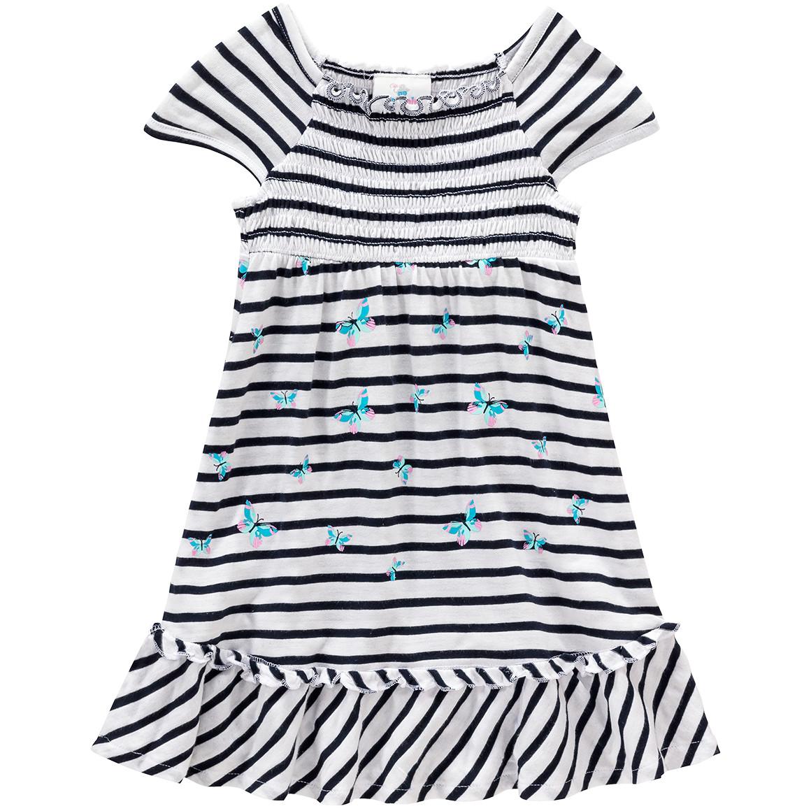 Baby Kleid im Streifen Look