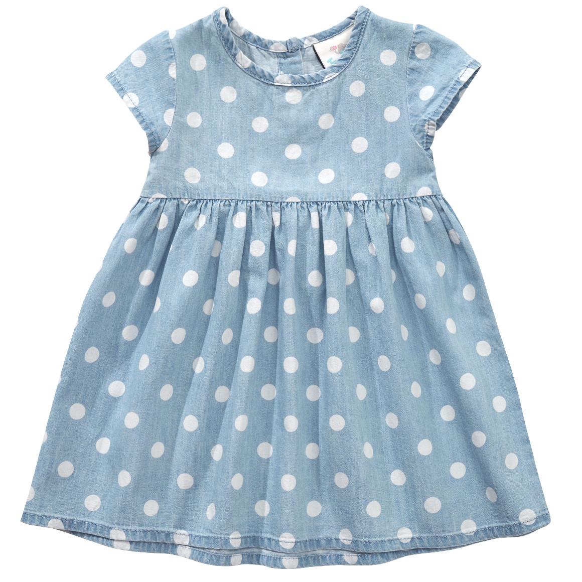 Baby Kleid mit Punkten