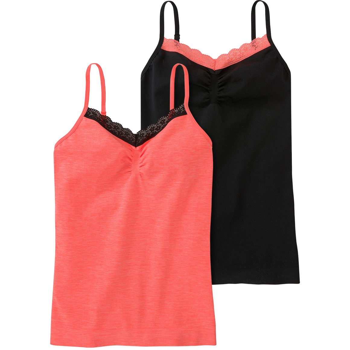 2 Mädchen Seamless Unterhemden