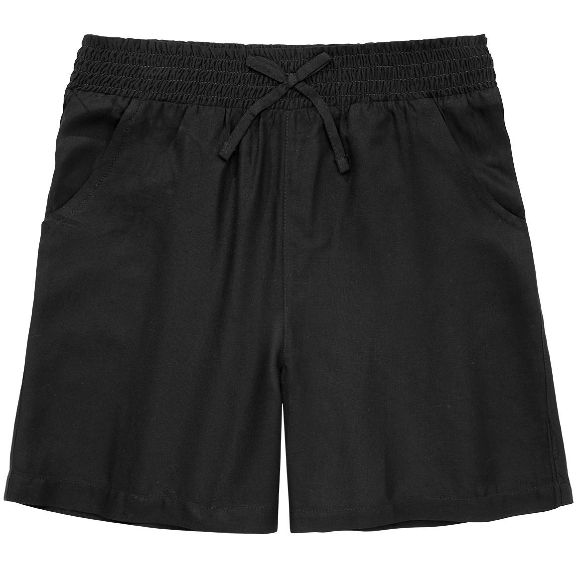 Mädchen Shorts mit gesmoktem Bund