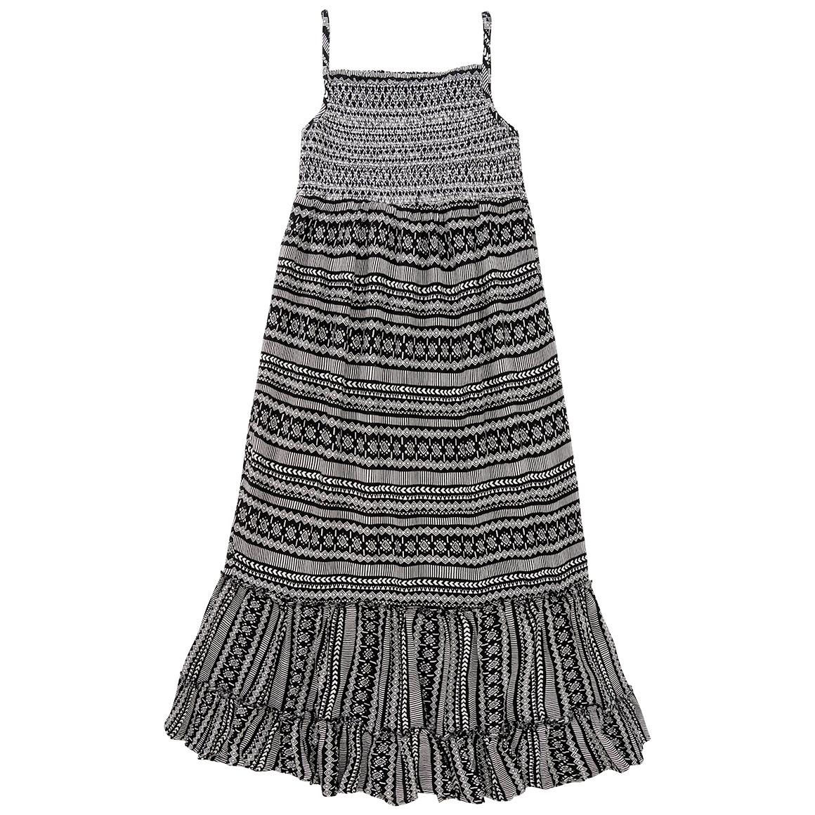 Mädchen Kleid mit Mustermix
