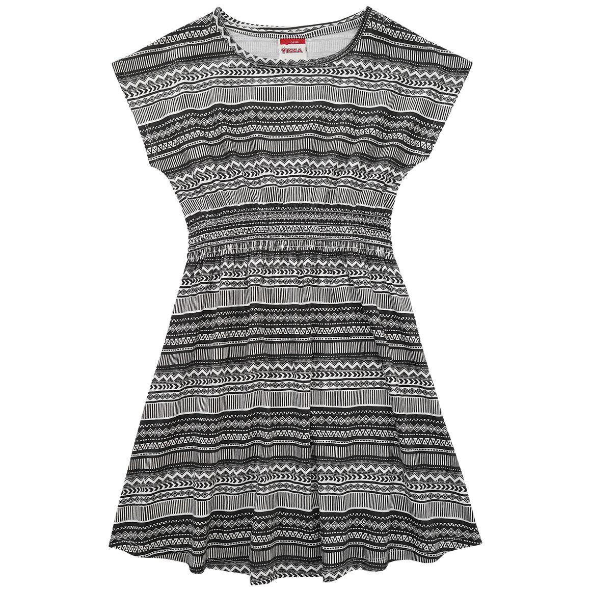 Mädchen Kleid mit Ethno Muster