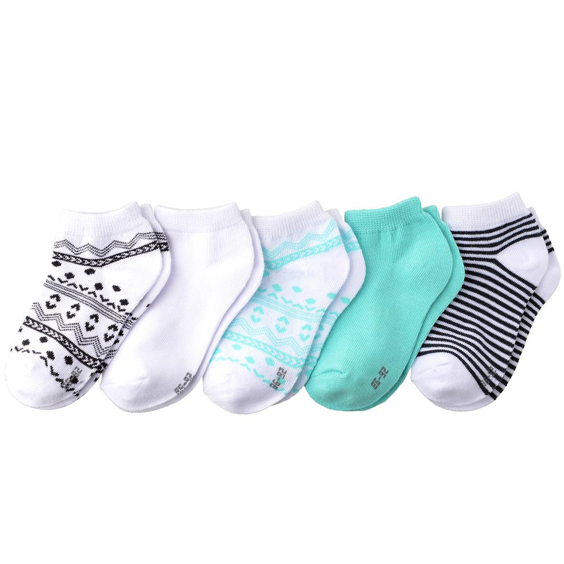 5 Paar Baby Sneaker Socken