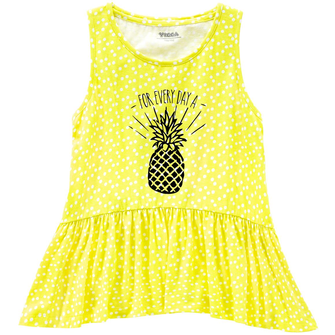 Mädchen Top mit Ananas Motiv