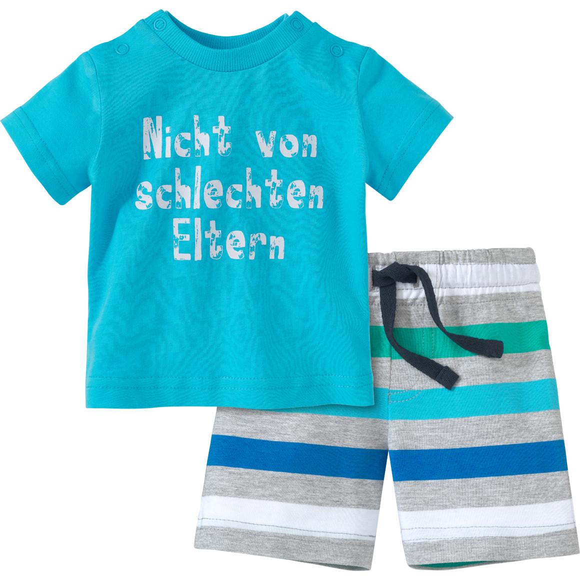 Newborn T-Shirt und Joggingshorts im Set