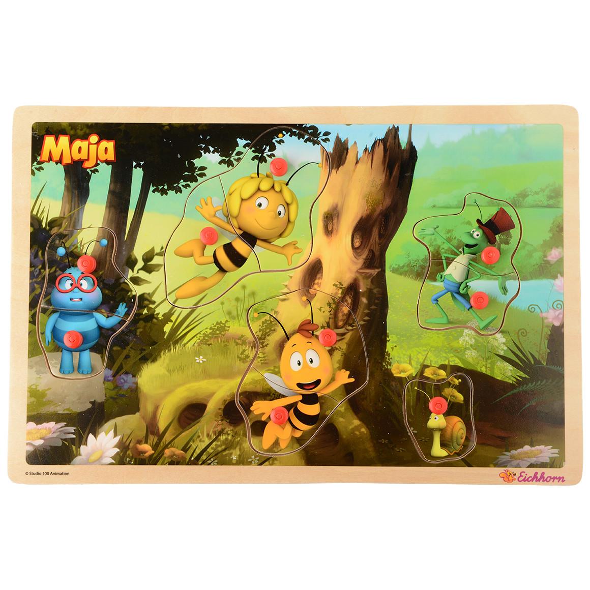 Die Biene Maja Steckpuzzle jetztbilligerkaufen