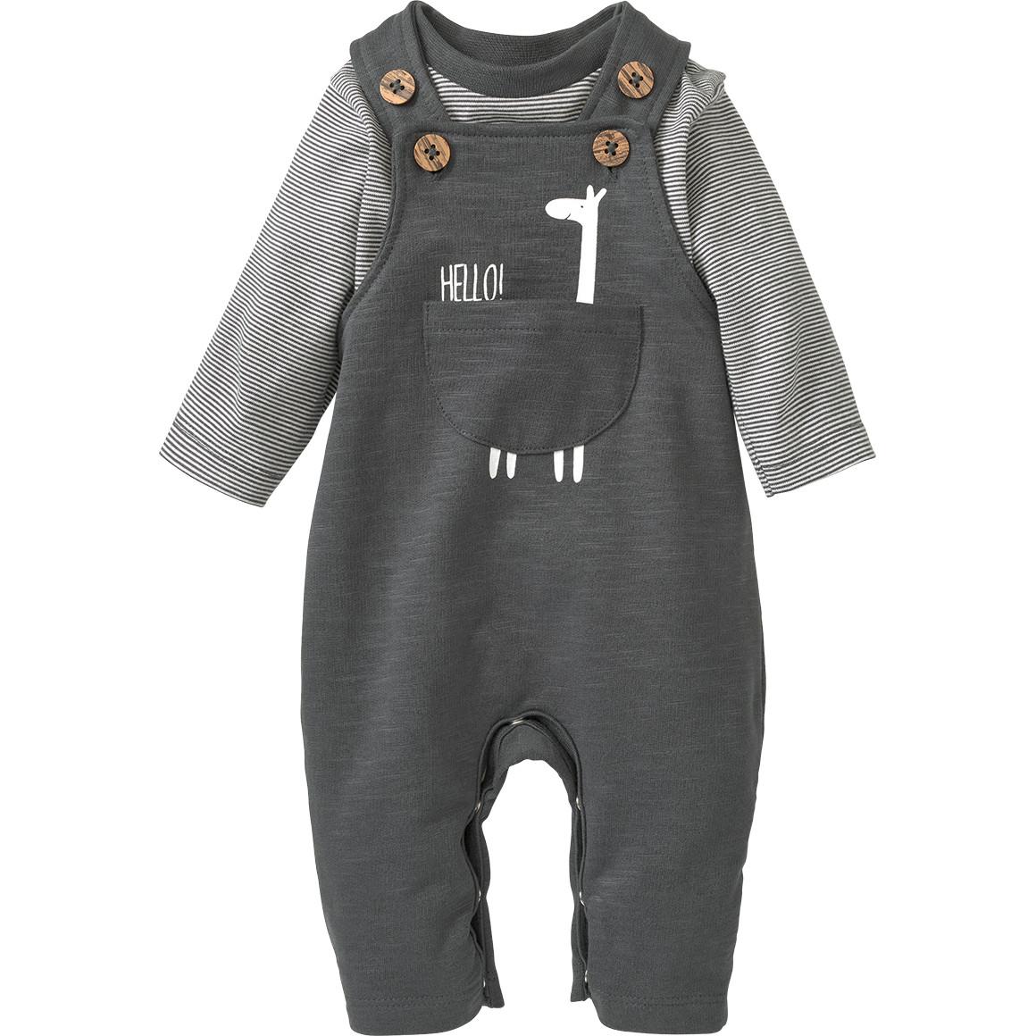 Newborn Strampler und Langarmshirt im Set
