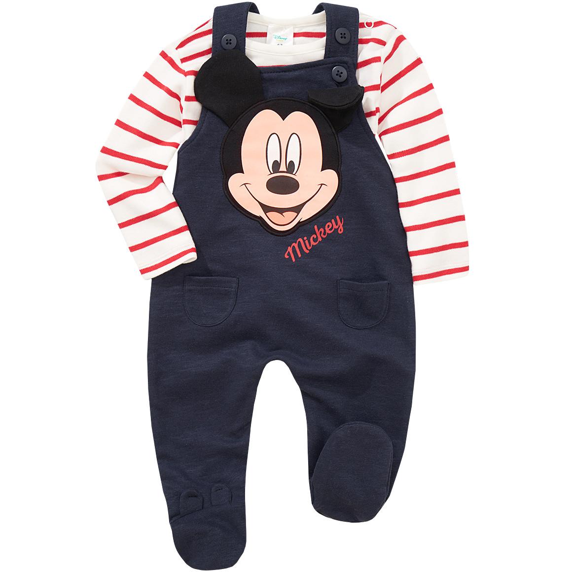 Mickey Maus Strampler mit Langarmshirt