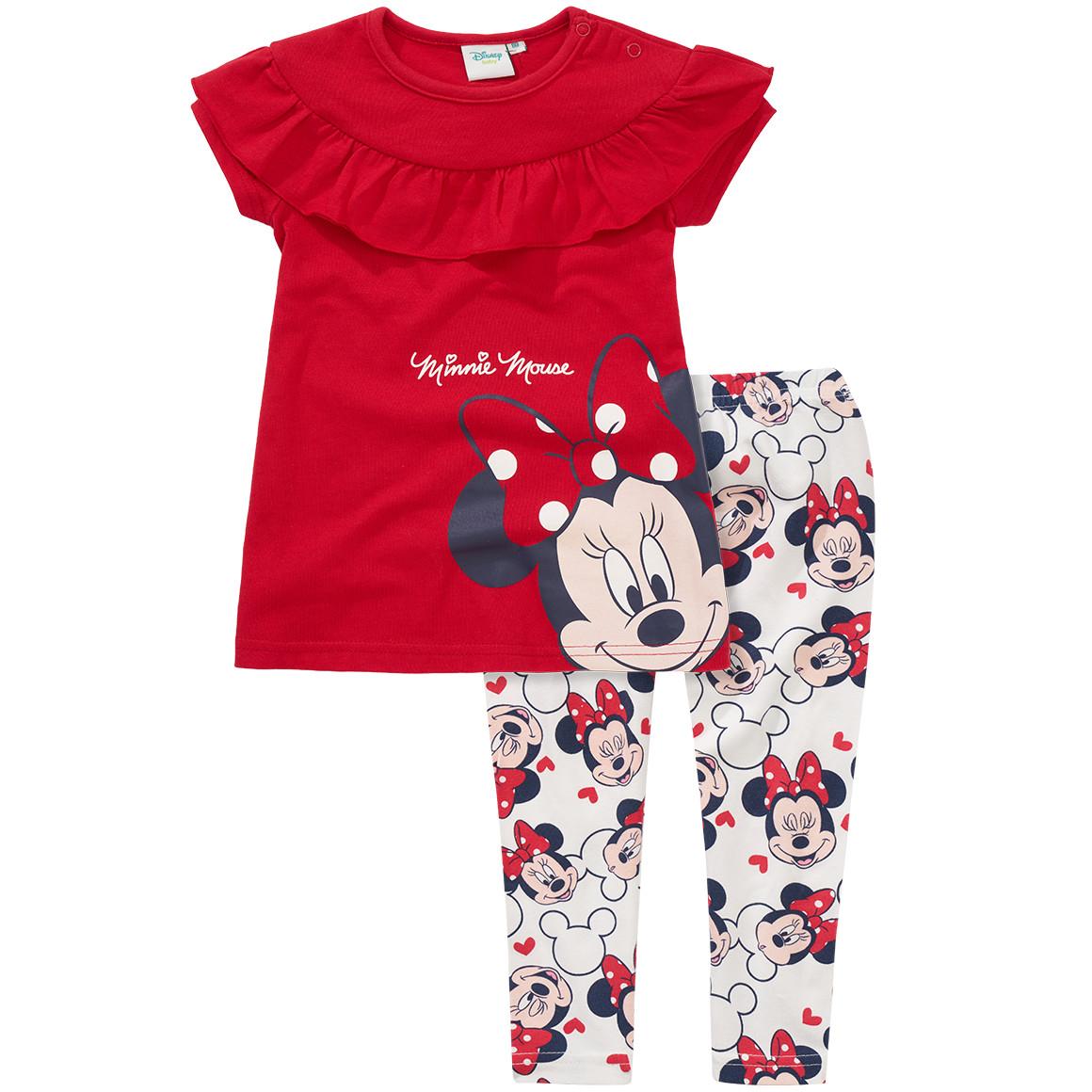 Minnie Maus Kleid und Leggings