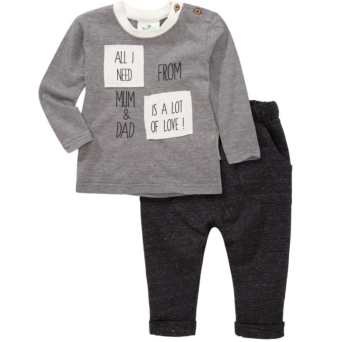Baby Langarmshirt und Jogginghose