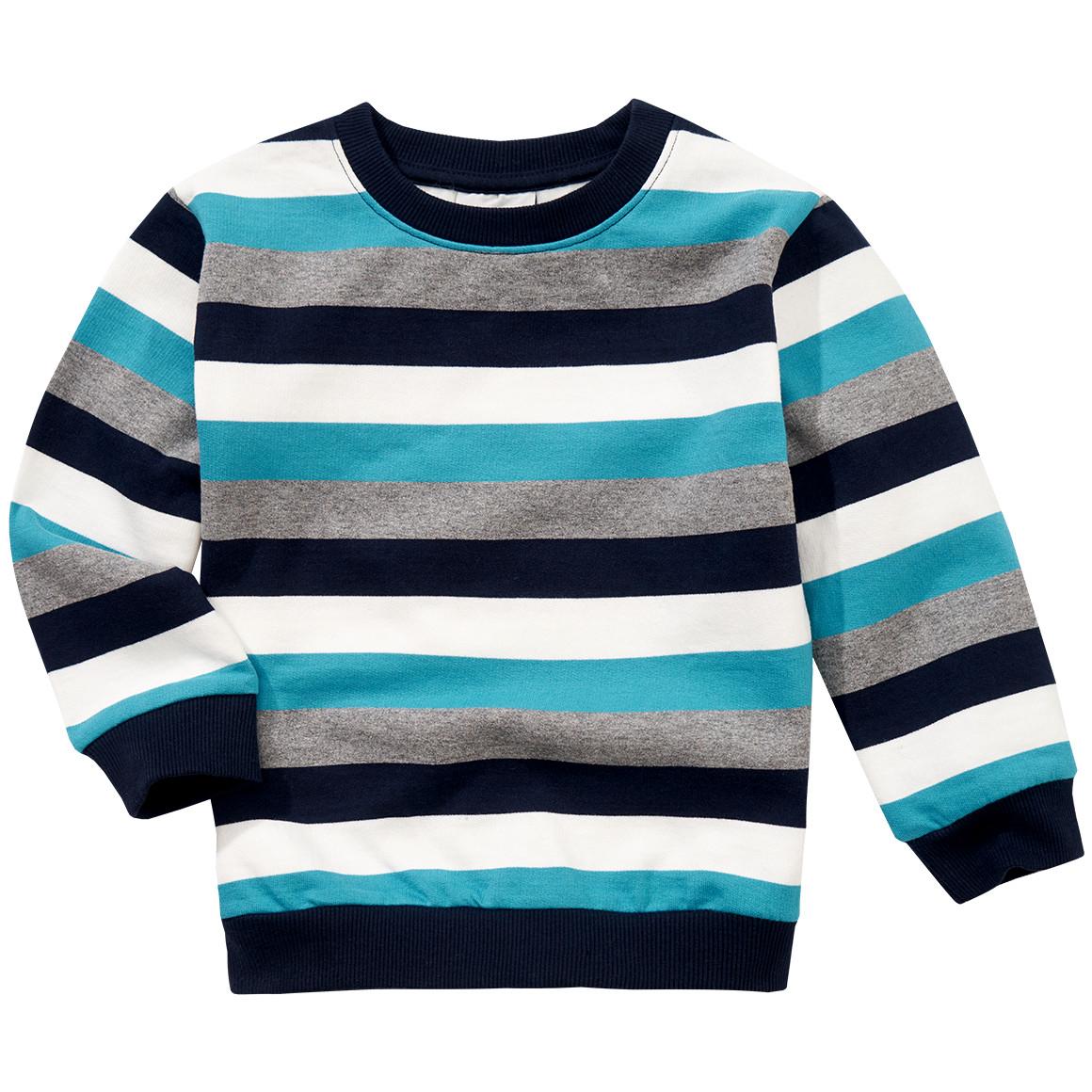 Jungen Sweatshirt mit Blockstreifen