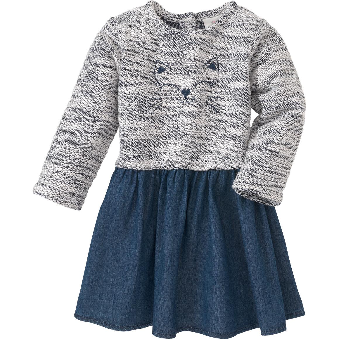 Baby Kleid mit Denim