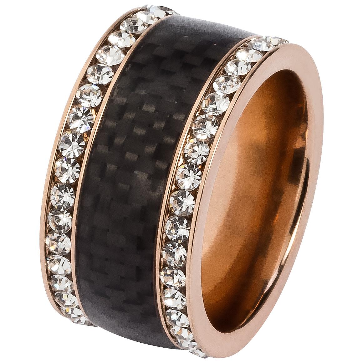 Damen Ring mit Glitzersteinchen