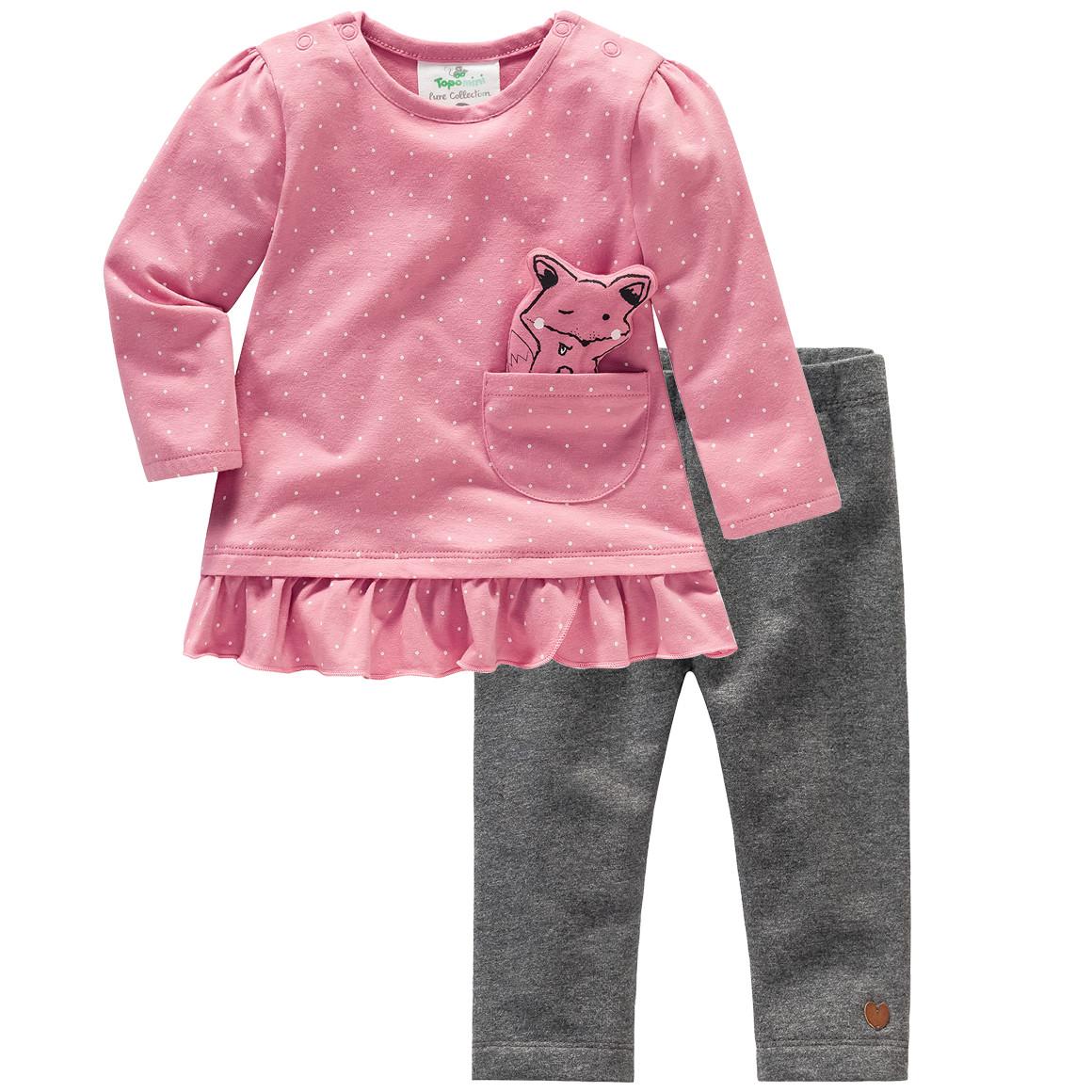 Baby Langarmshirt und Leggings