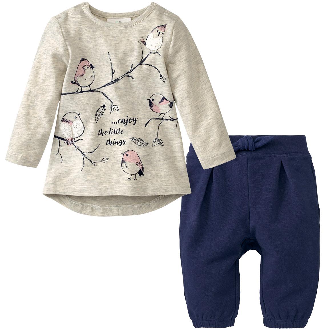Newborn Langarmshirt und Hose