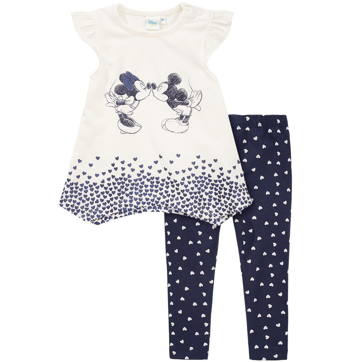 Minnie und Mickey Maus Shirt und Leggings