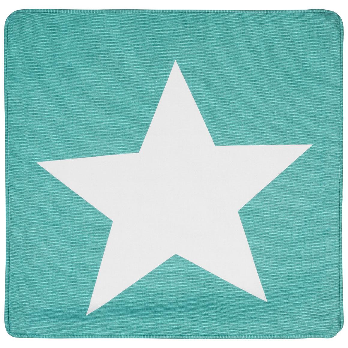 Kissenhülle mit Stern