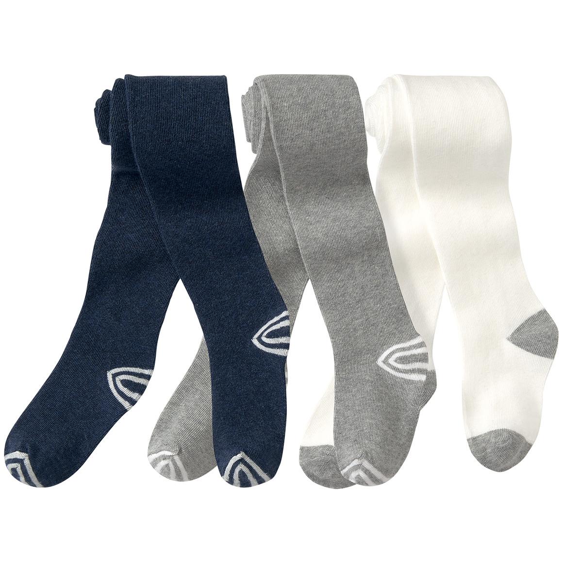 3 Baby Strumpfhosen in verschiedenen Designs